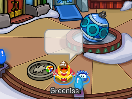 Club Penguin Smiley Bug