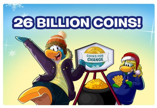 Coins for Change Results 2014